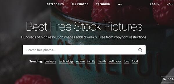 mejor banco de imagenes gratuitos